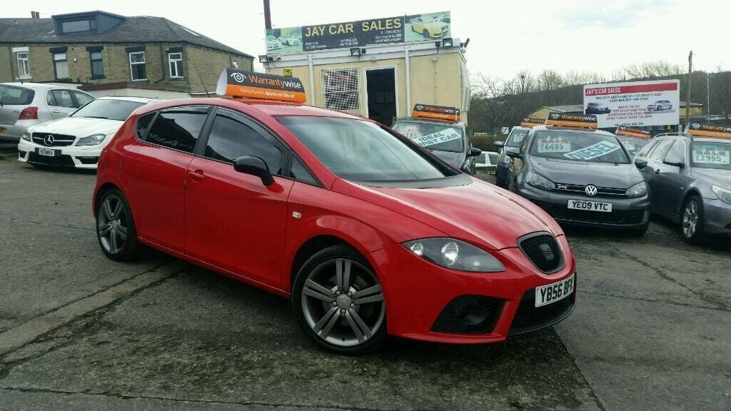 2007 56 seat leon 2 0 tdi fr 6 speed manual red in batley west yorkshire gumtree. Black Bedroom Furniture Sets. Home Design Ideas