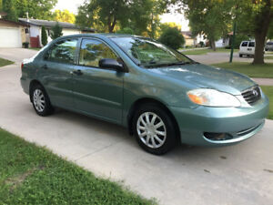 2005 Toyota Corolla (SAFETIED) $3,600 taxes included