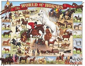 WHITE MOUNTAIN World's Popular Breeds Of HORSES with Names