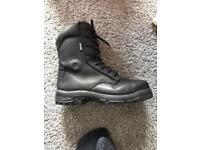 GOLIATH NFSR1111 CONTROL MEN PUBLIC ORDER BOOTS STEEL TOE CAP S3 SIZE UK10.5 BLACK