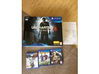 Ps4 new sealed 4 games warranty delivery