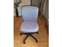 Office chair blue patern
