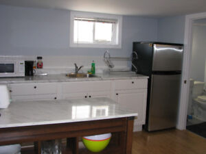 All furnished Basement apartment for rent from September1