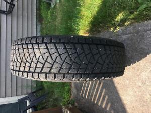 4 Bridgestone Blizzak Tires and Rims