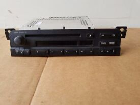 BMW E46 3 SERIES COUPE CAB COMPACT 4 DOOR TOURING STEREO GENUINE