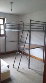 Highsleeper bed