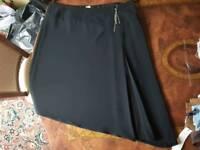 Wallis asymmetric skirt