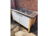 Habitat stainless steel double sink