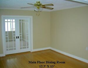 Sunny 3 Bedroom Main Floor Suite for Rent