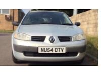 RENAULT MEGANE 1.6 VVT Authentique 5dr Hatchback (2005) 54 reg £995,00