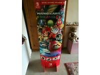 Mario kart 8 nintendo switch promo stand standee