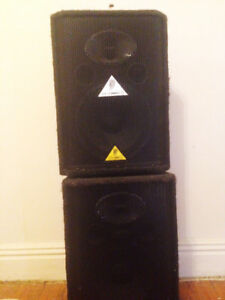 Bahringer Speakers  (600watts) each
