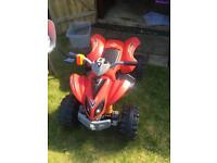 Kids quad bike with charger