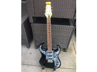 Burns Bison 64 re-issue Guitar Nato Black in Excellent condition ( might swap )