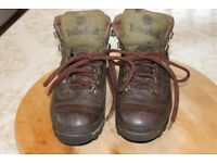 Timberland Ladies Leather Hiking Boots size 37 (4)