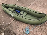 Sevylor Colarado Inflatable Kayak with Sevylor Hand Pump