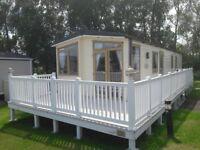 3 Bedroom Static Caravan For Sale, Decking Included, Near Ryde