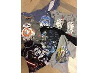 Large Bundle Boys Clothes Jeans Hoodies T-shirts Star Wars Marvel Next 4-5yrs