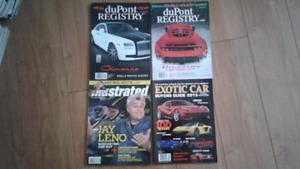 Automotive magazine collection