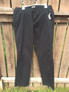 New black pants size 14 tall