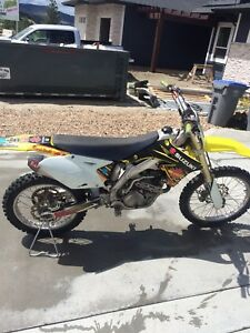 REDUCED! Suzuki RMZ 450 2008