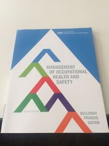 Management of Occupational Health & Safety
