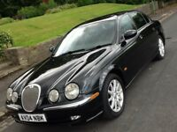 2004 JAGUAR S TYPE 3.0 V6 SE AUTO WITH FULL LEATHER INTERIOR
