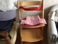 Stokke Tripp trapp with baby set