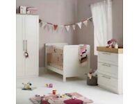Mamas & papas Rialto nursery furniture