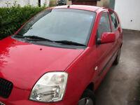 Kia Picanto GS Red 5 Door Hatchback