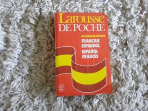 Dictionnaire français et espagnol