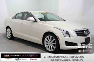 2013 Cadillac ATS SEDAN AWD LUXURY MAG 18'' GPS TOIT CUIR TURBO