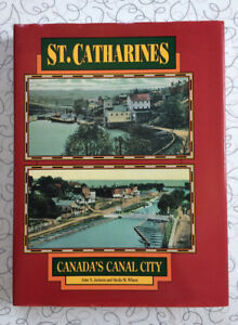 Vintage Hard Cover Book-St. Catharines Canada's Canal City, 1991