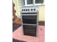 Beko. 500 mm wide free standing gas cooker.