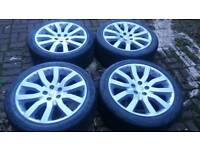 GENUINE LAND ROVER RANGE ROVER 20 INCH SUPERCHARGER ALLOY WHEELS 5X120 VW T5 T6 STORMER