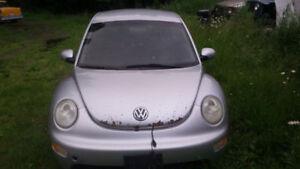 VW Beetle Tdi - Diesel - Parting Out