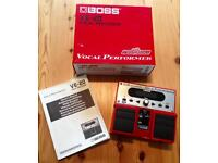 Boss VE-20 vocal effects processor pedal