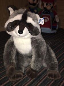 Extremely Rare LazyBoy Plush Raccoon