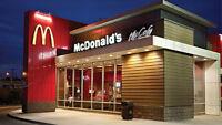 McDonald's St-Eustache embauche temps pleins !