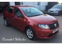 IMMACULATE , LIKE NEW Dacia Sandero 1.2 five door hatch, JUST 3000 miles, Manufacturer warranty