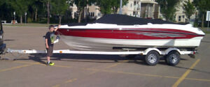 21 Ft Bowrider, Garage Stored, Low Hours