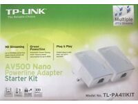TP Link Powerline Broadband Plugs