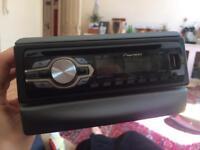 Pioneer DEH-1400UB Car stereo - with Ford Fiesta wiring loom