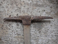 Old pickaxe