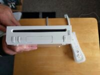 Ninetendo wii and wii fit with accessories