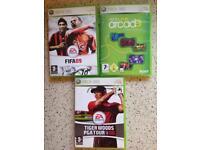 3x Xbox 360 games job lot