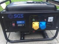 Generator Petrol 2.8 kva 115v-240v Heavy Duty portable