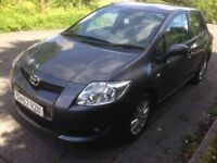 2008, TOYOTA AURIS 1.6 VVTI T-SPIRIT WITH FULL TOYOTA SERVICE HISTORY WITH 12 STAMPS