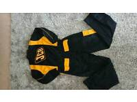Boys girls Jcb overall boiler suit all in one