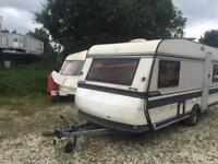 4 BERTH FIX BED HOBBY WITH SIDE BATHROOM WE CAN DELIVER MORE IN STOCK PLZ VIEW
